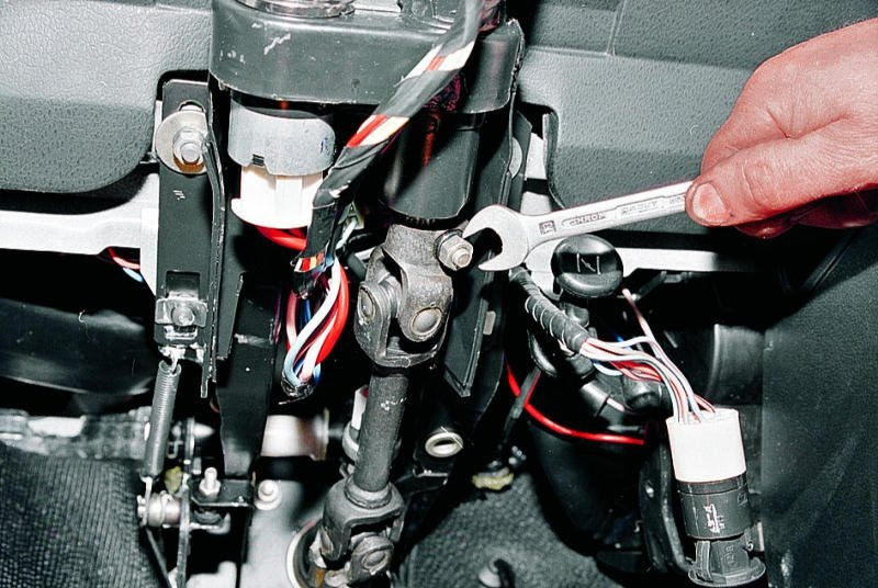 замена кардана рулевого вала